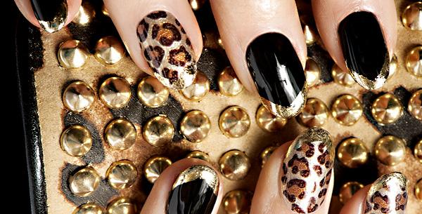 гелевые ногти весна 2013