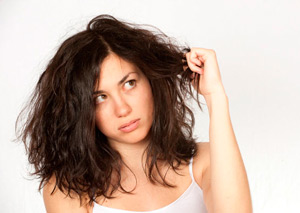 как выглядят сухие волосы