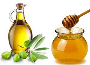 рецепт маска для волос: мед яйцо и оливковое масло