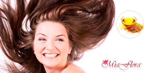льняное масло для здоровья волос